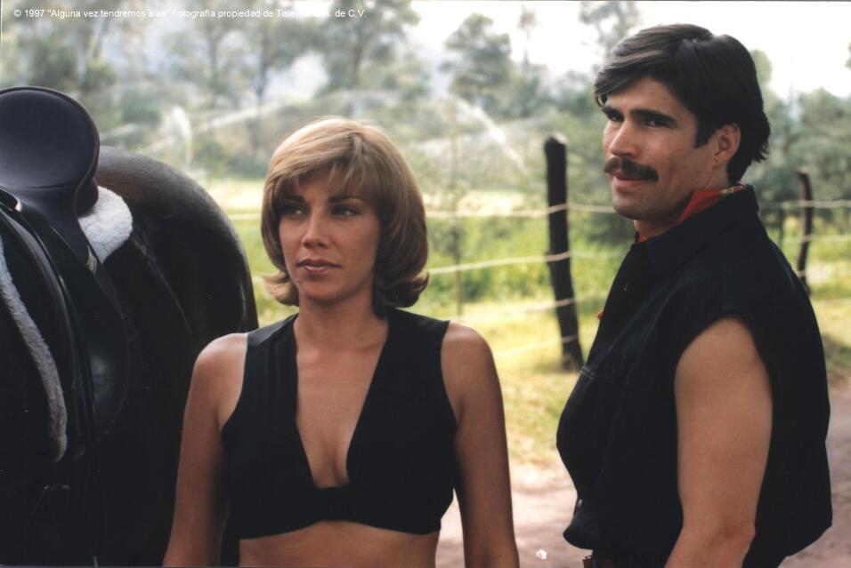 Cynthia Klitbo en Alguna Vez Tendremos Alas