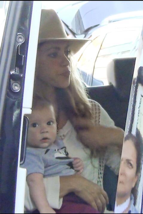 Shakira y Sasha