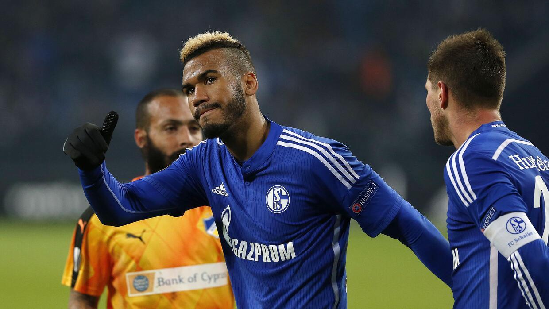 Schalke ganó con gol de Choupo-Moting