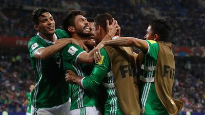 La cara de la remontada de México contra Nueva Zelanda en la Copa Confederaciones