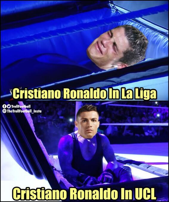 Real Madrid y CR7 golearon en la Champions y en los memes dplzxgxv4aekgc...