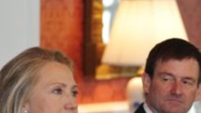 Hillary Clinton, secretaria de Estado de EU.