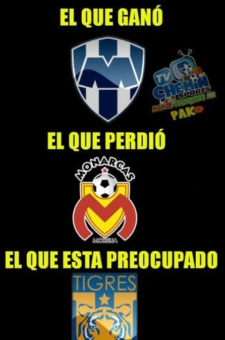 Memes semifinales Apertura 2017