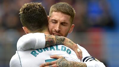En fotos: Real Madrid venció 1-2 de visita al Eibar y sigue respirando en la Liga
