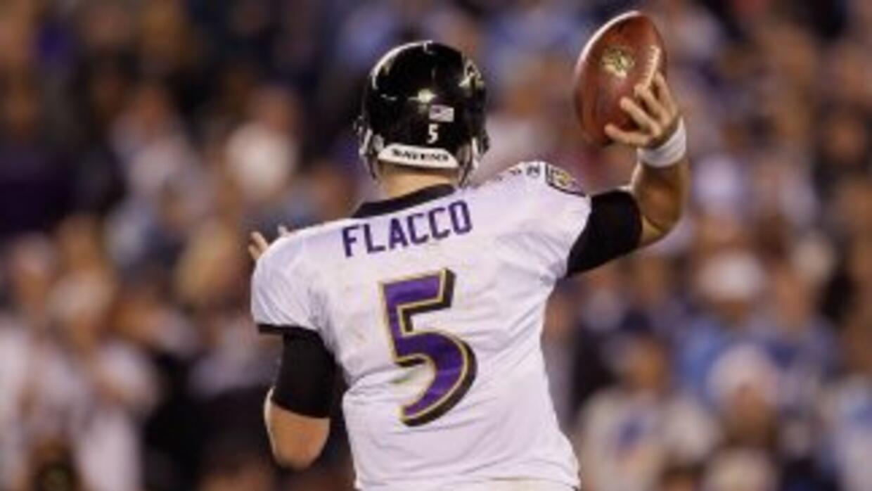Flacco no entró al nivel de los quarterbacks de elite, pero eso no quier...