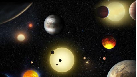 Un artista hizo una representación de cómo se ven los planetas descubier...