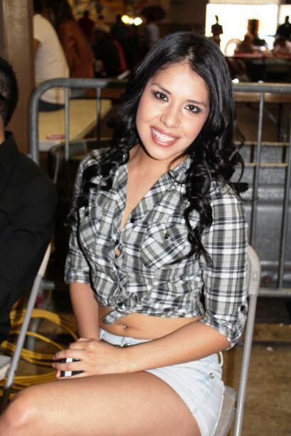 Verónica González, nuestra bella invitada al duelo entre la Jefa 107.7 y...