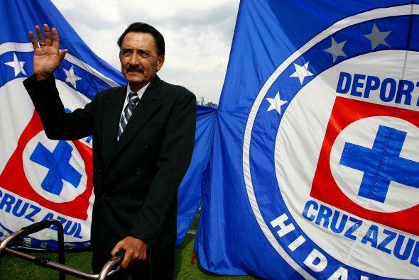 El Kalimán es uno de los jugadores históricos de Cruz Azul...