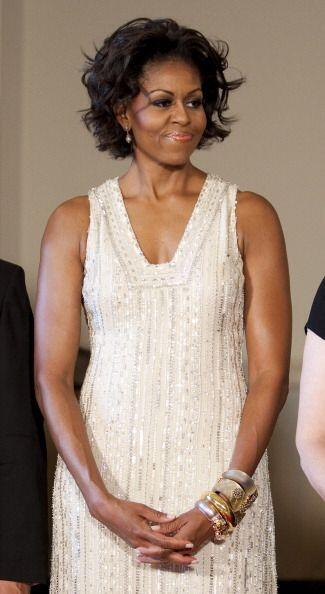 Como podemos apreciar, Michelle Obama tiene un sencillo pero original es...