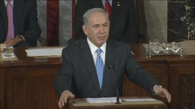 Los momentos claves del discurso de Netanyahu