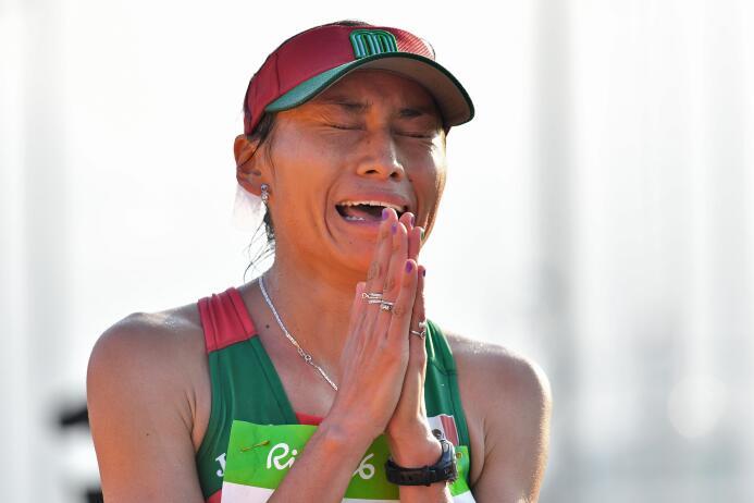 Lupita González, la guerrera del atletismo mexicano GettyImages-59220650...