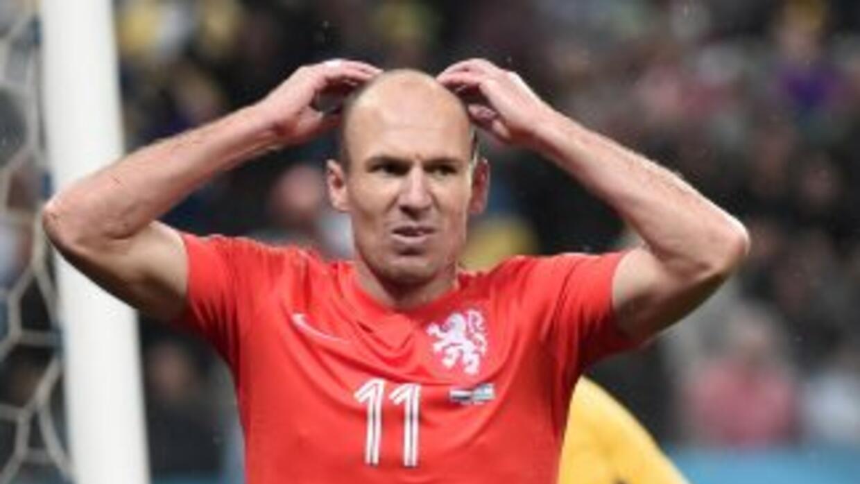 Robben señaló que se siente frustrado por no llegar a la final.