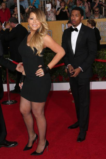¿Guantes para una alfombra roja? Mariah Carey no tenía ni idea del tipo...
