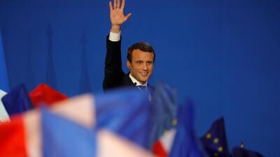 Fotos: Así se vivió la jornada en la primera vuelta de la elección presidencial en Francia