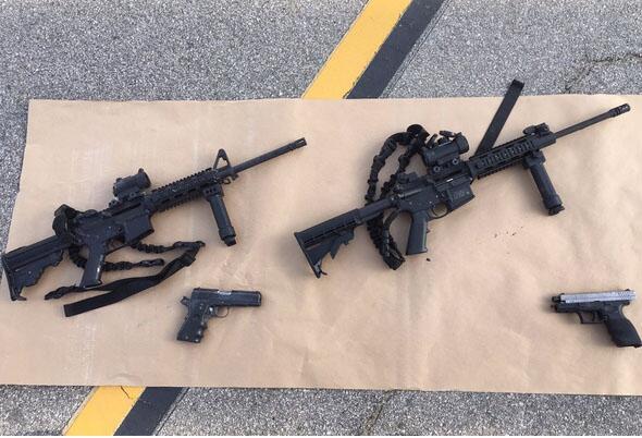 Fuerte armamento de los asaltantes del tiroteo en  San Bernardino Untitl...