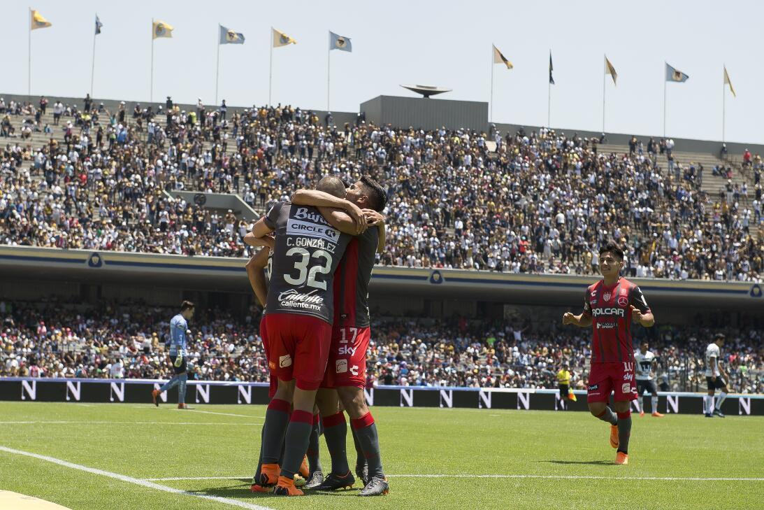 En fotos: CU sigue sin pesar; Pumas y Necaxa empatan a un gol 20180401-9...