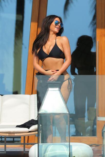 Respira profundo y abre bien los ojos porque Kim te hará sudar nu...