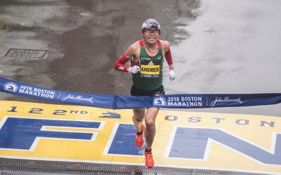 Es el primer nipón en ganar el maratón desde 1987.