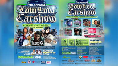 The Low Low Car Show is back this Spring