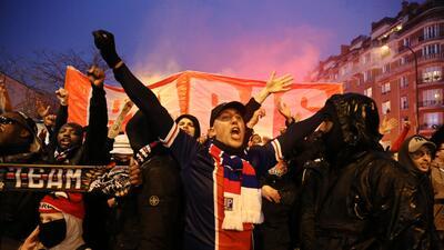 París se convirtió en una caldera hirviendo en la previa del juego PSG-Real Madrid