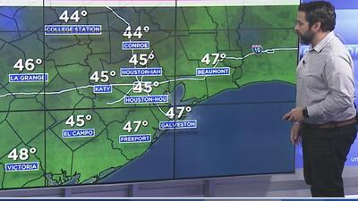Se pronostica una noche fría para Houston, marcada por los fuertes vientos