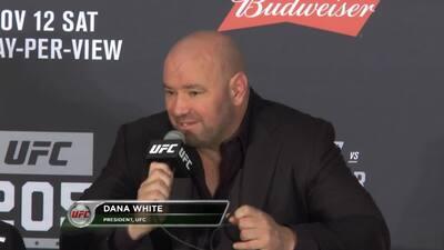 """""""McGregor rompió todos los récords"""", presidente de la UFC"""