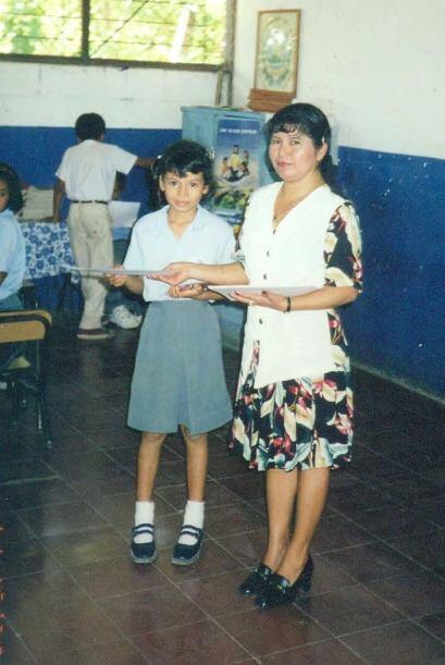 Marisela fue la única centroamericana de la competencia.  Mira la...