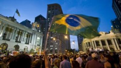 La manifestación fue convocada por el Movimiento Nacional de la Ciudadan...
