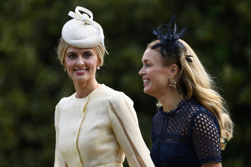 Donna Air, novia de James Middleton, llegó a parte para encontrarse con...