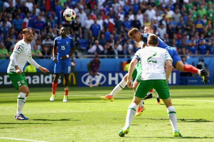 Francia vs. Irlanda