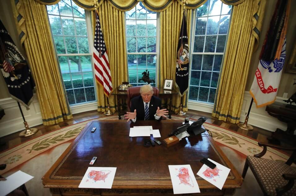 Trump Día Dificil