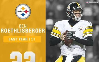 #22: Ben Roethlisberger (QB, Steelers) | Top 100 Jugadores 2017