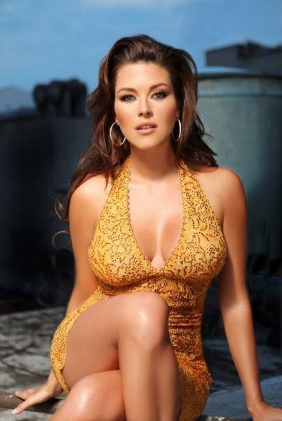 Alicia Machado es una guapa mujer que se ha desempeñado como actr...