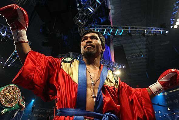El filipino Manny Pacquiao confirmó su calidad de mejor boxeador...