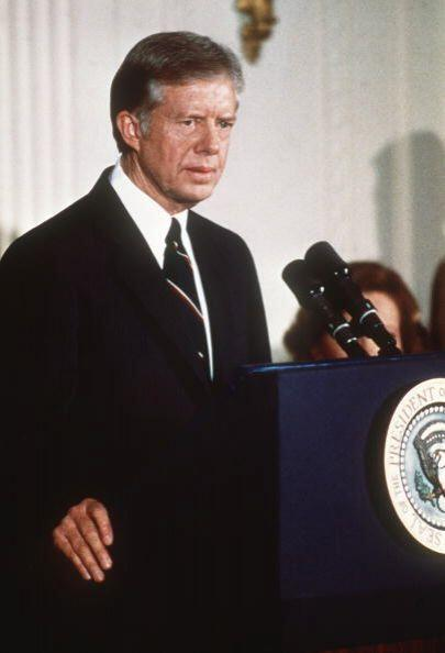 #39 Jimmy Carter. Mandato desde 20 de enero de 1977 y hasta 20 de enero...