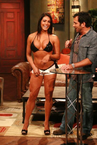 Tanto así que les mostró su cuerpecito en un bikini diminuto.