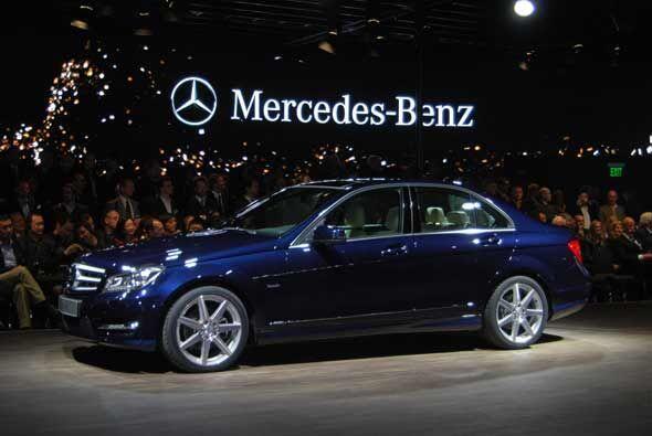 Y para la edición 2011 del NAIAS, el protagonista de Mercedes-Benz fue e...
