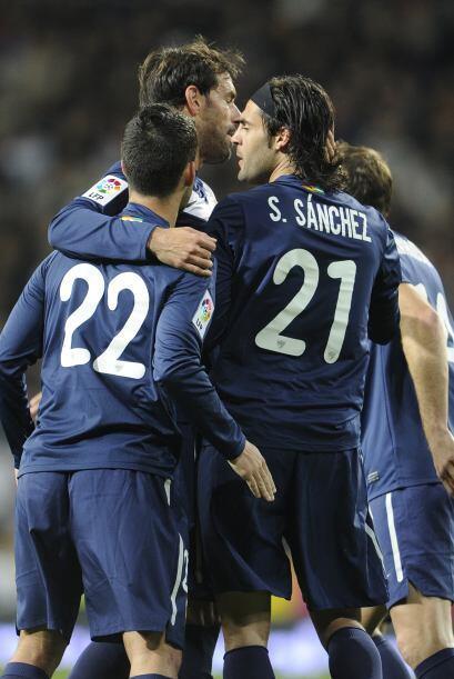 Pero para sorpresa de los presentes en el Santiago Bernabéu, Serg...