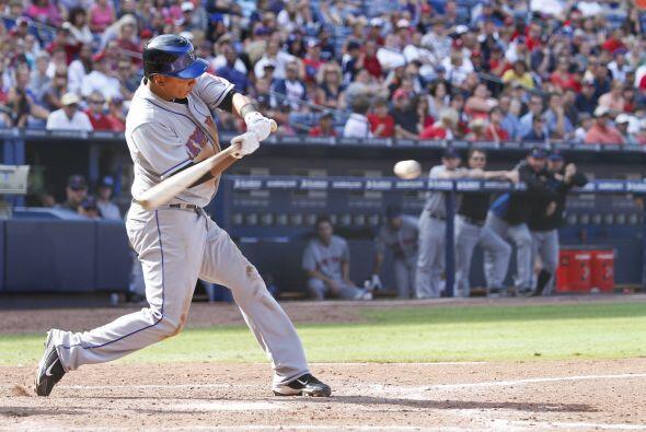 2B. Rubén Tejada. Mets de Nueva York. El panameño bateó para .385 en 26...