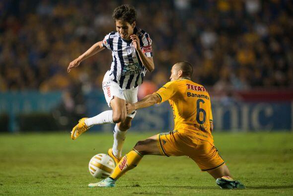 Con el paso de los minutos el conjunto de Tigres logró secar el ataque d...