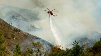 Incendio en California arrasa con 600 hectáreas