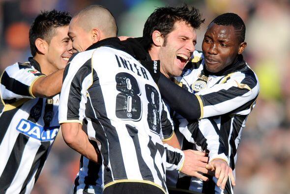Maurizio Domizzi concretó la reacción de los locales con el tercer tanto.