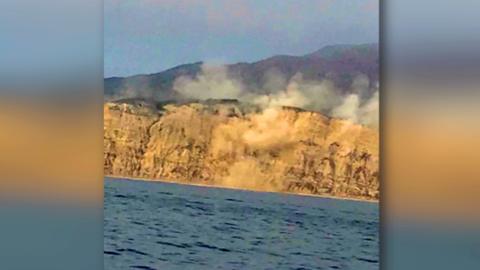 El temblor de magnitud 5.3 desató una polvareda en Channel Islands.