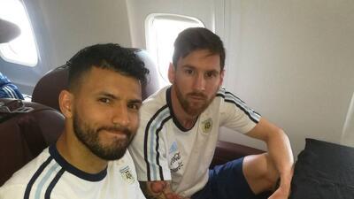 Lionel Messi se queja de la AFA por retraso en el vuelo de Argentina