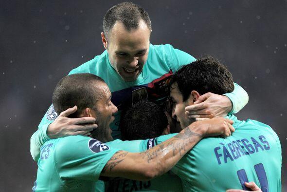 Barcelona ganaba 1 a 0 y el resultado era muy merecido.