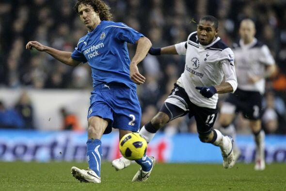 Por su parte, el Tottenham recibió al Newcastle.