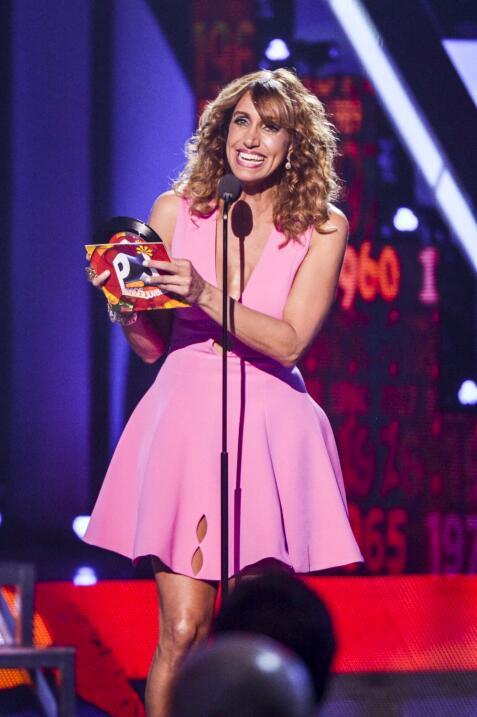 Lili Estefan presentó el premio en la categoría Mi Protago...