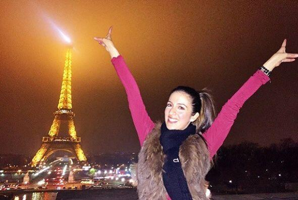 """""""Enamorada de #Paris #TorreEiffel! Cuando se puede y se trabaja duro, ha..."""