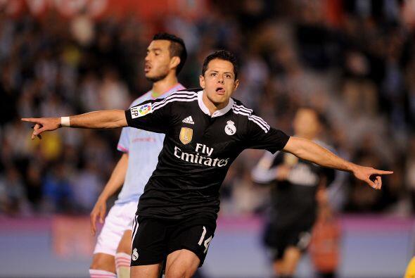 El delantero mexicano marcó el 2-1 para el Madrid para que el conjunto b...