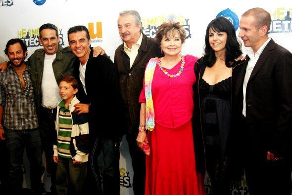 """Posteriormente, fue parte del elenco del melodrama """"Pueblo Chico, I..."""